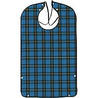 AIEX Lätzchen Für Erwachsene Waschmaschinenfest Zum Essen Von Männern Kleidungsschutz Mit Krümelfänger Für Ältere Männer