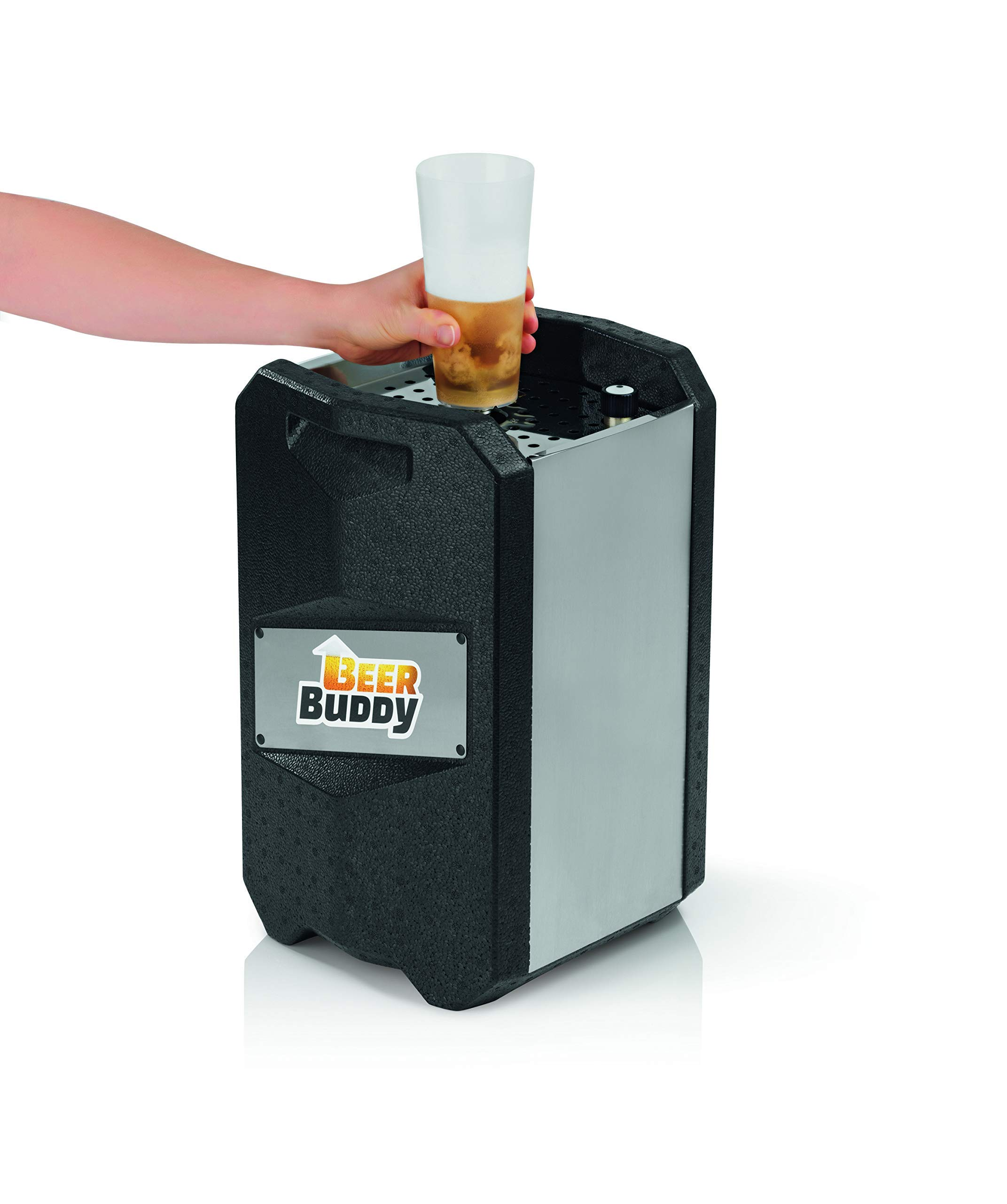 81oEVzlBFZL - Beer Buddy Version 2.0 latest version. Bottoms Up Beer Tap for 5 Litre Party Barrels