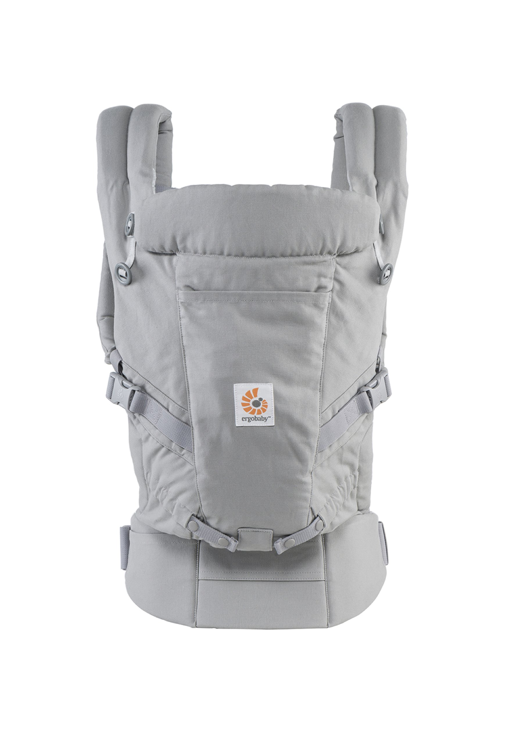ErgoBaby Adapt Baby Carrier Grey Ergobaby Adapt to Every Baby Easy. Adjustable. Newborn to toddler. 4
