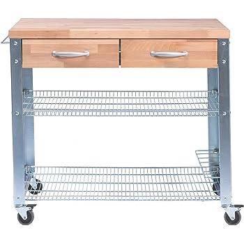 cook 100 profik chenwagen 100 x 60 cm h 87 5 cm k che haushalt. Black Bedroom Furniture Sets. Home Design Ideas