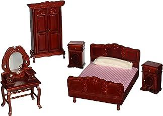 Melissa & Doug 2583 Deluxe Doll-House Bedroom Furniture