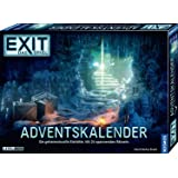 KOSMOS 693206 EXIT - Das Spiel - Adventskalender: Die geheimnisvolle Eishöhle, mit 24 spannenden Rätseln ab 10 Jahre, Escape
