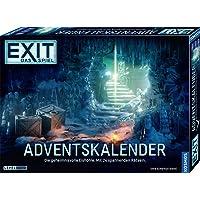 KOSMOS 693206 EXIT - Das Spiel - Adventskalender: Die geheimnisvolle Eishöhle, mit 24 spannenden Rätseln ab 10 Jahre…