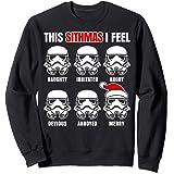 Star Wars Stormtrooper Sithmas Emotions Christmas Sweatshirt