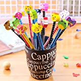 McNory Set 40 Matita in Legno con Gomma matite Grafite con gomme bomboniera regalino per Festa Bambini Compleanno…