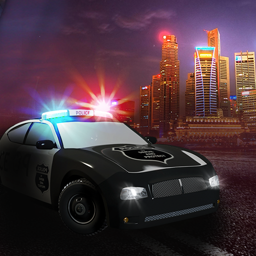 police-speed-run-car-chase-the-emergency-cop-911-call-free-edition