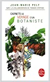 Carnets de voyage d'un botaniste
