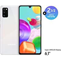 Samsung Galaxy A41 Android Smartphone ohne Vertrag, 3 Kameras, 6,1 Zoll Super AMOLED Display, 64 GB/4 GB RAM, Dual SIM…