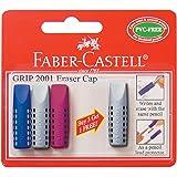 Faber-Castell 187007 - Tapa de lápiz borradora (pack de 4 unidades)