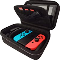 Subsonic - Stoccaggio custodia rigido e resistente agli urti per gli accessori e console Nintendo Switch console e…