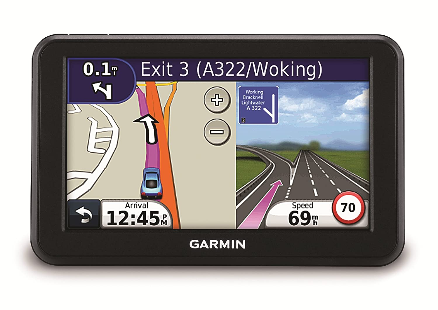 Garmin Nuvi 50 Lm 5 Sat Nav With Uk And Western Eu Maps And Free Lifetime Map Updates Discontinued By Manufacturer Discountinued By Manufacturer