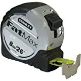 Stanley 5-33-891 Metric/Imperial Fatmax Xtreme Tape Measure, 8m/26'