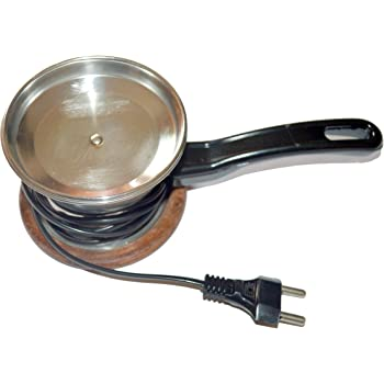 DELUXE Stainless Steel Electric Dhoop Dani Incense Burner