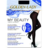 GOLDEN LADY My Beauty 50 Collant, 50 DEN, Nero (Nero 099A), X-Large (Taglia produttore:5 – XL) Donna