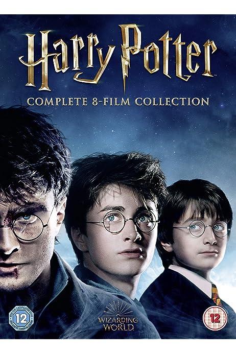 Harry Potter - Complete 8-film Collection DVD 2016: Amazon.co.uk: Daniel  Radcliffe, Rupert Grint, Emma Watson, Ian Hart, Robert Hardy, Kenneth  Branagh, Gary Oldman, Michael Gambon, Miriam Margolyes, Robert Pattinson,  Ralph Fiennes, Brendan