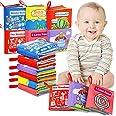 Libri di Stoffa Baby, Il Mio Primo Libro Morbido Non Tossico Libro, Giocattoli Educativi Regali per Il Primo Anno Neonati di