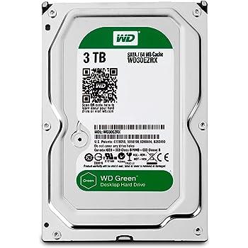 WD Green Disque dur interne (Bulk) Desktop Mainstream 3 To 3,5 pouces SATA intellipower- Modèle aléatoire