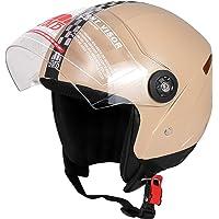 JMD HELMETS Wonder New open face helmet (Medium, Beige (Desert Strom))