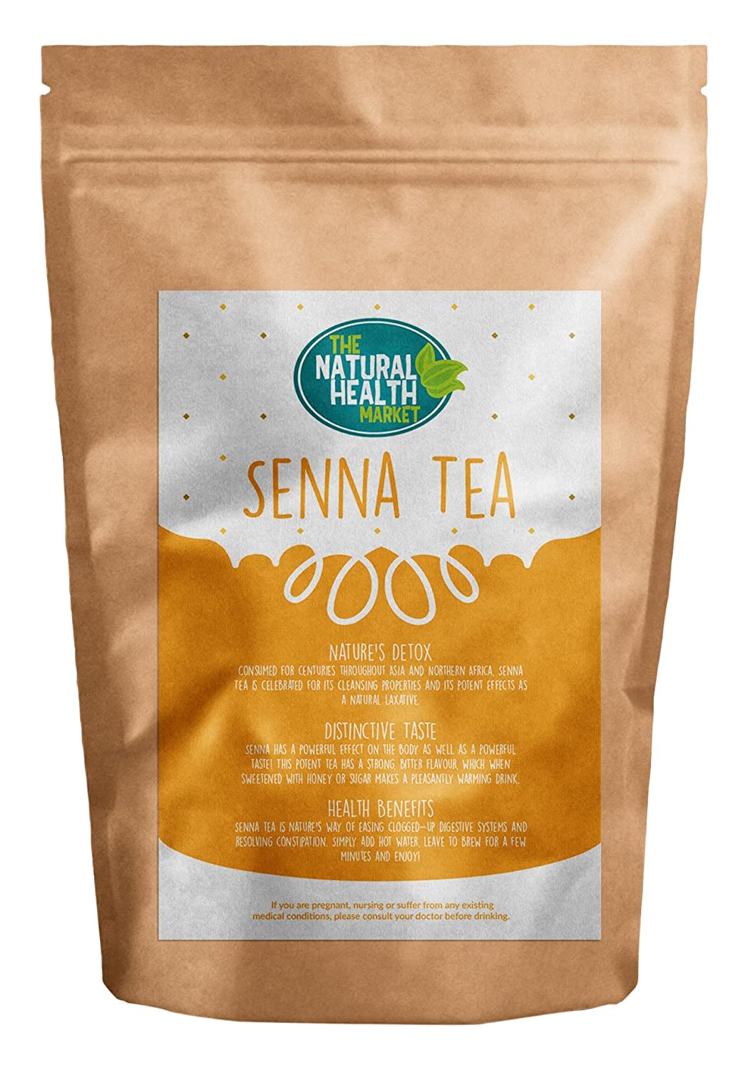 Bioslim herbal tea - Senna Tea Bags 100 Bags By The Natural Health Market Amazon Co Uk Grocery