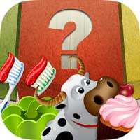 Sortier-und Lernspiel für Kinder - 100 Obst, Gemüse, Desserts, Tiere und home-Objekte für die Klassifizierung