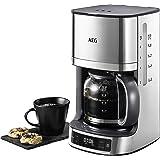 AEG KF 7700 ekspres do kawy (programowalny timer, wyświetlacz LCD, funkcja aromatu, łatwe napełnianie, wskaźnik poziomu wody