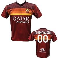 Maglia Calcio Roma Personalizzabile Replica Autorizzata 2020-2021 Taglie da Bambino e Adulto. Personalizza con Il Tuo…