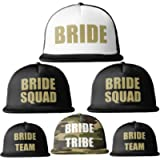 Bride Tribe Gold Print MESH TRUCKER Snapback Caps Hats Squad Team Hen Party Do
