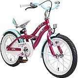 BIKESTAR Kinderfahrrad für Jungen und Mädchen ab 4-5 Jahre | 16 Zoll Kinderrad Cruiser | Fahrrad für Kinder | Risikofrei…