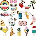 20 Pezzi Carino Smalto Spilla Badge Set Cartone Animato Spilla Badges Fermaglio per Abito Borsa Giacche Accessorio Artigianat