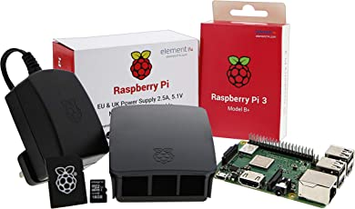 UCreate Raspberry Pi 3 Model B+ Desktop Starter Kit (16 GB, schwarz)