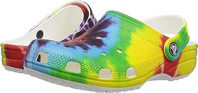 Crocs Classic Tie Dye Graphic Clog Kids Multi Croslite