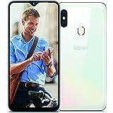 Gigaset GS290 Allrounder Smartphone (16,00 cm (6,3 Zoll) V-Notch Display, 4GB RAM, 64GB Speicher, Android 9.0 Pie, ohne Vertrag mit Clearcover zum Schutz) pearl white