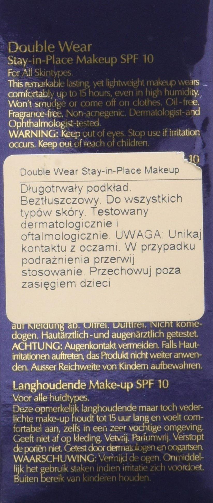 Estée Lauder Double Wear Stay-In-Place Makeup – Maquillaje de base FPS 10 Sandbar Beige