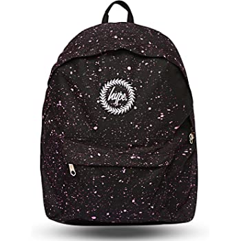 Hype Black White Speckle Backpack Rucksack Bag - Ideal School Bags ... fcc5baccf7a30