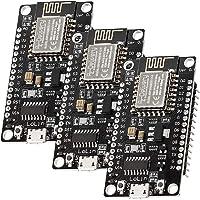 AZDelivery 3 x NodeMCU Lolin V3 Module ESP8266 ESP-12F WIFI Wifi Development Board mit CH340 inklusive E-Book!