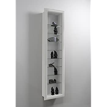 Lhs Showcase Ii Wall Mounted Glass Display Case Cabinet Unit With