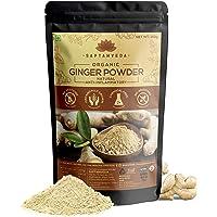 SAPTAMVEDA 100% Organic Ginger Powder for Tea (150 GM)