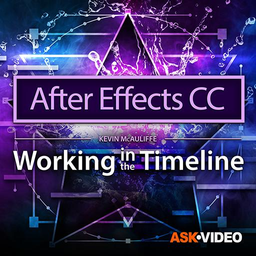 After Effects CC 103 : Working in the Timeline 103 Video
