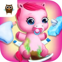 Pony Sisters Baby Horse Care - Babysitter Daycare
