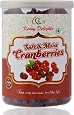 Kenny Delights Dried Sliced Cranberries, 250g