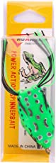 Top Water, Floating Frog with High Rigged Stainless Hook, Fresh/Salt Water,Lure