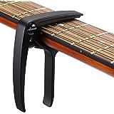 Asmuse Professional Capotasto Universale Nero Capo High quality Zinc Alloy per Chitarra Acustica Per Chitarra Ukulele Banjo F