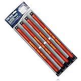 com-four® 4X Portaherramientas magnético - Banda magnética para Herramientas - Carril magnético para el Taller - Almacenamien