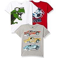 Chromozome Boy's Regular Fit T-shirt (Pack of 3)