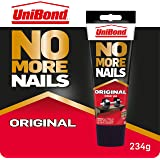 UniBond 1968125 Geen nagels meer, originele, zware montagelijm, sterke lijm voor hout, keramiek, metaal en meer, witte instan