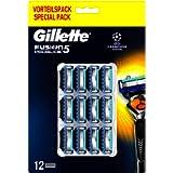 Gillette Fusion5 Proglide Lamette di Ricambio per Rasoio Uomo, Confezione da 12 Lamette
