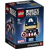 LEGO Brickheadz 41589 - Captain America, Marvel Spielzeug