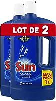 Sun Liquide de Rinçage Lave-Vaisselle Standard (Lot de 2x1l)