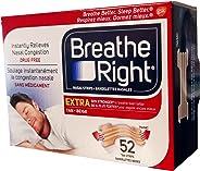 Breathe Right Extra Nasal Strip, 52 Strips (Tan)