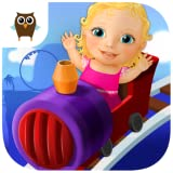Sweet Baby Girl Theme Park – Ride a Roller Coaster, Fly with Hot Air Balloon, Guess Future, Create Music, Spin the Wheel of Fortune and Have Fun in Clown's Dress Up